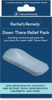 Rachel's Remedy Down There Relief Pack, hemorrhoid Treatment, ice Pack, Reusable Gel pad/Perineum icepack, Postpartum Care...