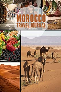 Morocco Travel Journal: 6x9