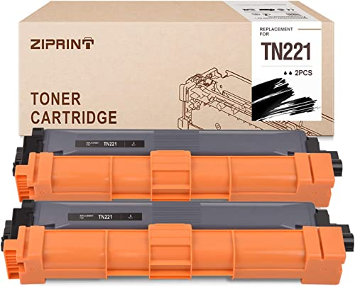 lowest ZIPRINT Compatible Toner Cartridge Replacement for new arrival Brother TN221 TN-221 use for HL-3170cdw MFC-9130cw MFC-9340cdw popular HL-3140cw HL-3180CDW MFC-9330cdw DCP-9020CDN (2-Black) outlet sale