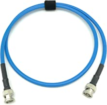 3ft AV-Cables 3G/6G HD SDI BNC Cable Belden 1505A RG59 - Blue