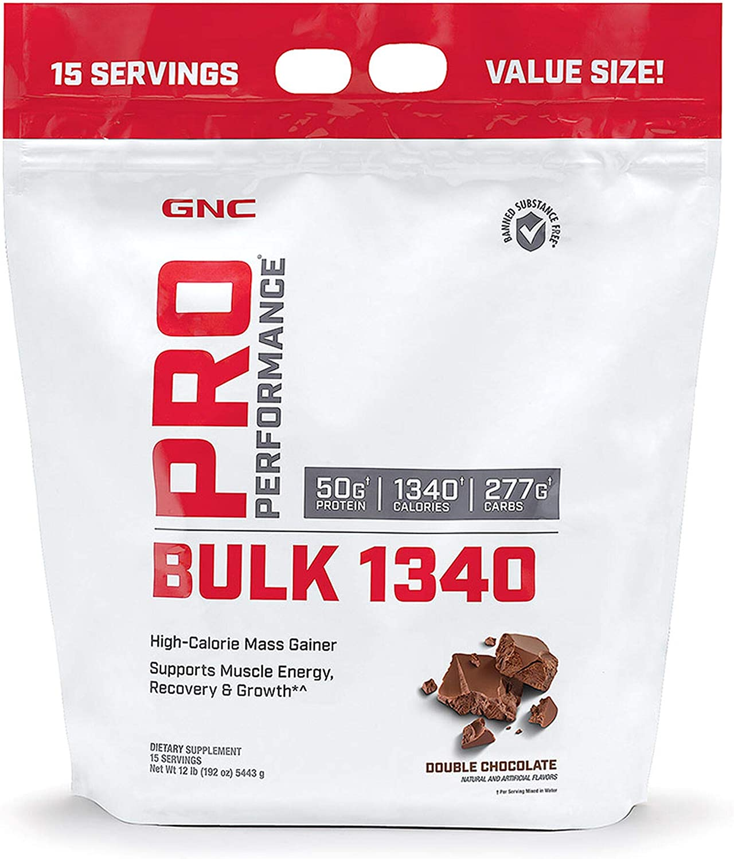 GNC Pro Performance Bulk 1340 - Double Inventory cleanup selling sale S 15 Chocolate Servings [Alternative dealer]