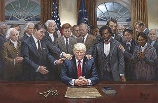 Donald Trump, American Republican,US President Pray for Trump Poster Wall Art Home Wall..