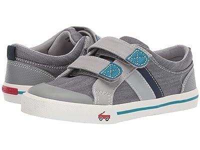 See Kai Run Kids Russell (Little Kid) (Gray/Teal) Boys Shoes