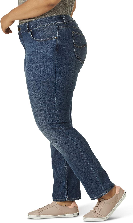 Lee Women's Plus Size Regular Fit Straight Leg Jean