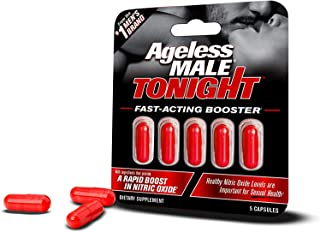 Ageless Male Tonight - Performance Enhancement and Nitric Oxide Booster Supplement. Male Enhancement Pills. Safe and Effec...