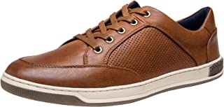 JOUSEN Men's Fashion Sneakers Memory Foam Casual Shoes for Men Retro Oxford Sneaker