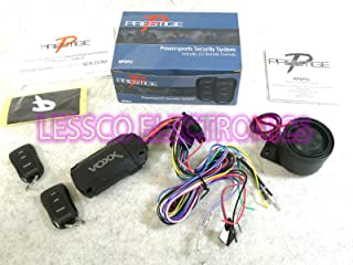 Prestige APSPS1 Powersports Motorcycle Security Alarm System for Recreational Vehicles