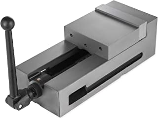 Mophorn Bench Clamp Vise High Precision Clamping Vise 6 Inch Jaw Width CNC Vise Fixed Jaw (6 Inch)