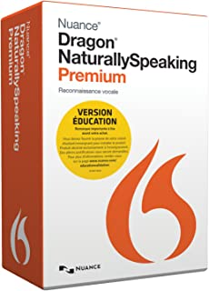 Dragon NaturallySpeaking Premium 13, French - Student/Teacher Edition (Discontinued)