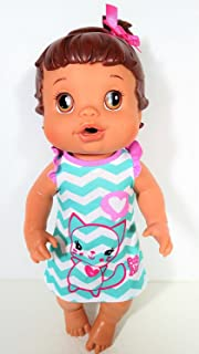 Baby Alive 2008 Better Now Baby Doll - Drink & Wet- Hispanic
