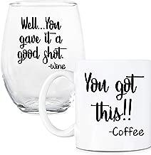 Best coffee mug and wine glass set Reviews
