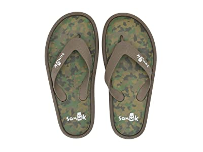 Sanuk Sidewalker (Brindle Multi) Men