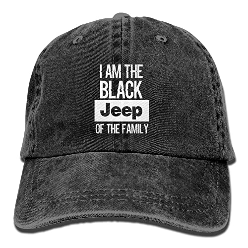 719f4d8f843 EEFR Funny I m The Black Jeep Of The Family Cowboy Hat Adjustable
