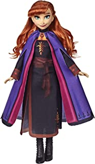 Disney Frozen Anna Fashion Doll With Long Red Hair and Outfit Inspired by Frozen 2 - Toy for Kids 3 Years Old and Up, Mult...