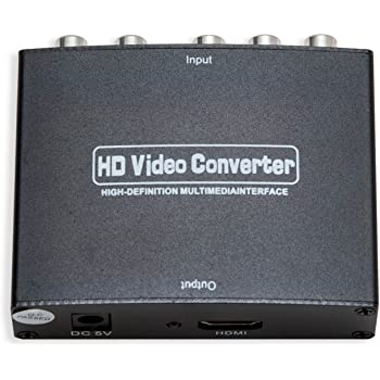 IO Crest SY-ADA31048 Component (YPbPr) + RCA Audio Input to HDMI 1.3 Output Converter
