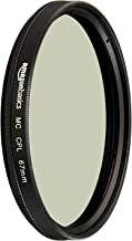 AmazonBasics Circular Polarizer Camera Photography Lens - 67 mm