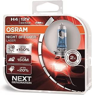 Osram H4 Night Breaker Laser Duo Box 64193NBL-HCB Light Next GEN (60/55W, 12V, 2 Bulb)