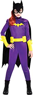 Party City Batgirl Halloween Costume for Girls, DC Super Hero Girls, Small, Includes Accessories