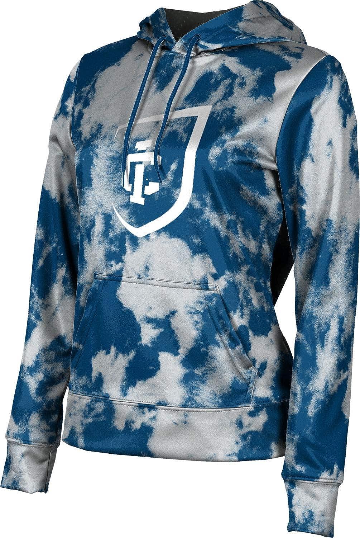 ProSphere Ithaca College Girls' Pullover Hoodie, School Spirit Sweatshirt (Grunge)
