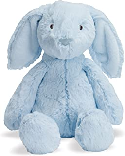 blue stuffed rabbit