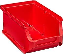 Allit ProfiPlus Opbergbak met Zichtbaarheid Uitloop Maat 2, rood, 456205