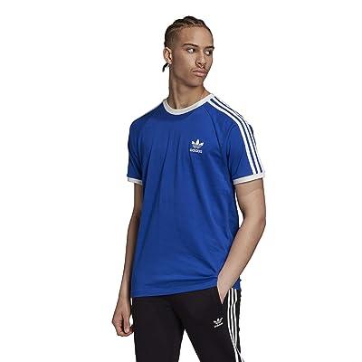 adidas Originals 3-Stripes Tee (Team Royal Blue) Men