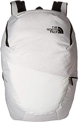 TNF White Metallic Melange/TNF Black