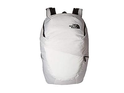 The North Face Aurora (TNF White Metallic Melange/TNF Black) Backpack Bags