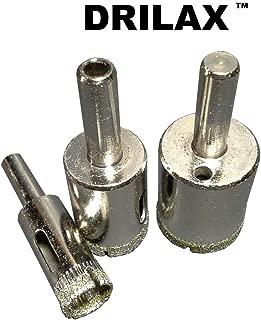 Drilax 3 Pcs Diamond Drill Bit Set 1/2