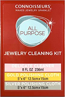 Connoisseurs All Purpose Jewelry Cleaning Kit
