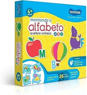 Quebra-Cabeça Montando o Alfabeto Toyster Brinquedos
