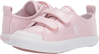 pink polo canvas shoes