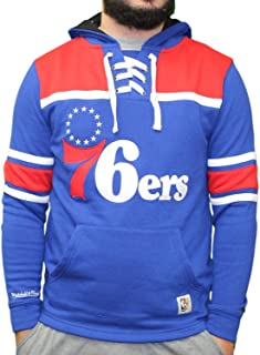 mitchell and ness sixers hoodie