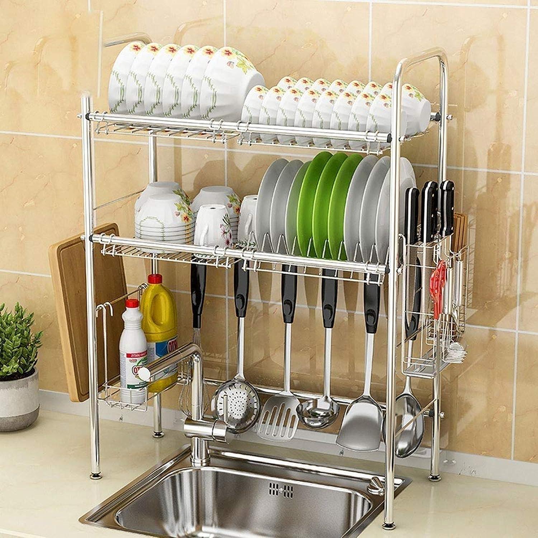 Égouttoir égouttoir à vaisselle, évier en acier inoxydable Organisateur de support pour égouttoir à couverts (style   A)