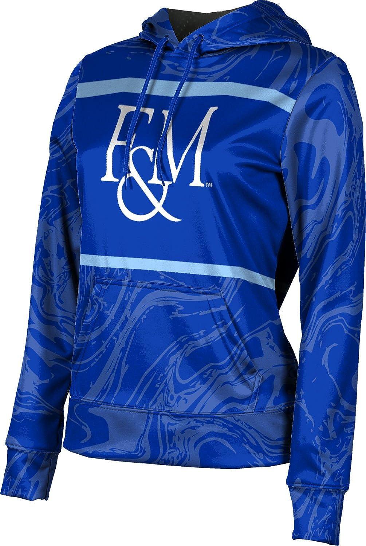ProSphere Franklin & Marshall College Girls' Pullover Hoodie, School Spirit Sweatshirt (Ripple)