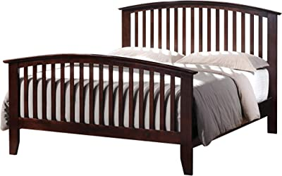 Coaster Home Furnishings Panel Bed, Cappuccino