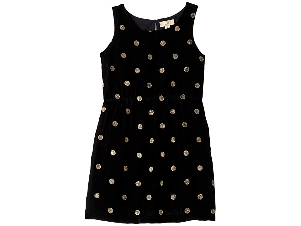 PEEK Anya Dress (Toddler/Little Kids/Big Kids) (Black) Girl