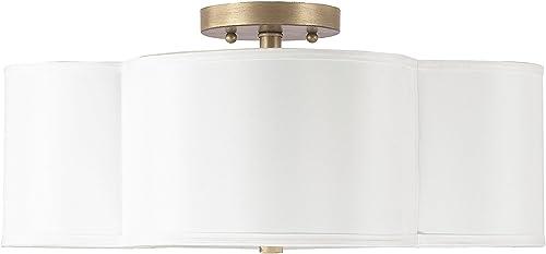 new arrival Capital wholesale outlet online sale Lighting 4453BG-561 Four Light Semi-Flush Fixture online