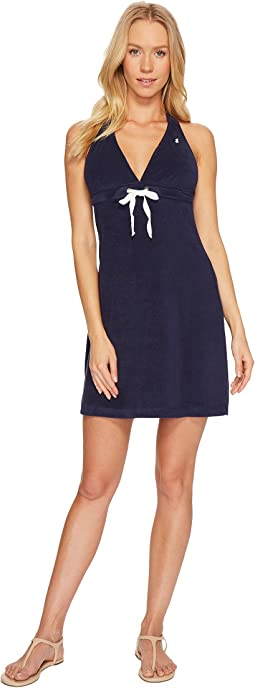 Polo Ralph Lauren Iconic Terry Grommet Halter Dress Cover-Up