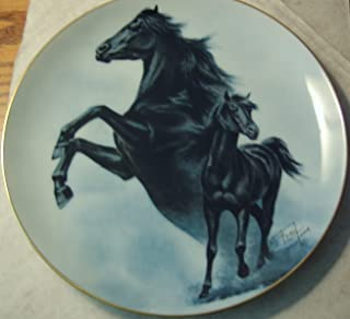 Fred Stone Limited Edition Collector Horse Plates