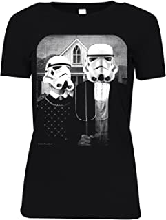 Womens Star Wars American Gothic T-Shirt