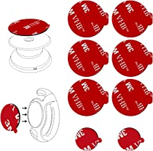 6pcs 3M Sticky Adhesive Replacement Parts for Socket Base, VOLPORT 1.38 Circle Double Sided Tape for Collapsible Grip Stand's Back, 2pcs Pops VHB Sticker Pads for Cell Magnetic Phone Car Mount Holder