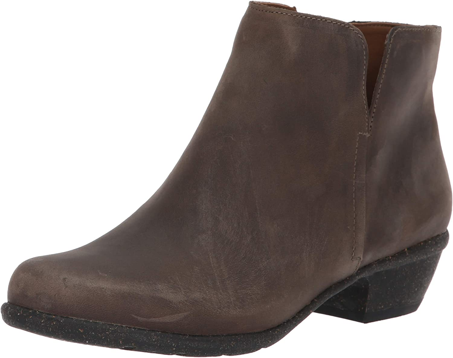 CLARKS Women's Wilpink Frost Taupe Oiled Leather 7 D US