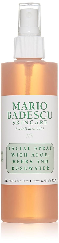 ノーブル走るフルーツマリオ バデスク Facial Spray with Aloe, Herbs & Rosewater - For All Skin Types 236ml/8oz並行輸入品