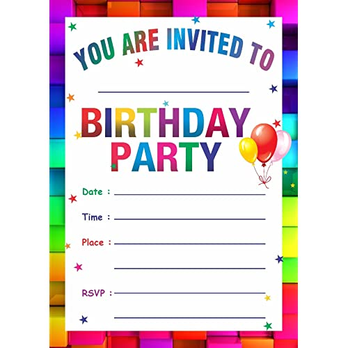 online party invitation template