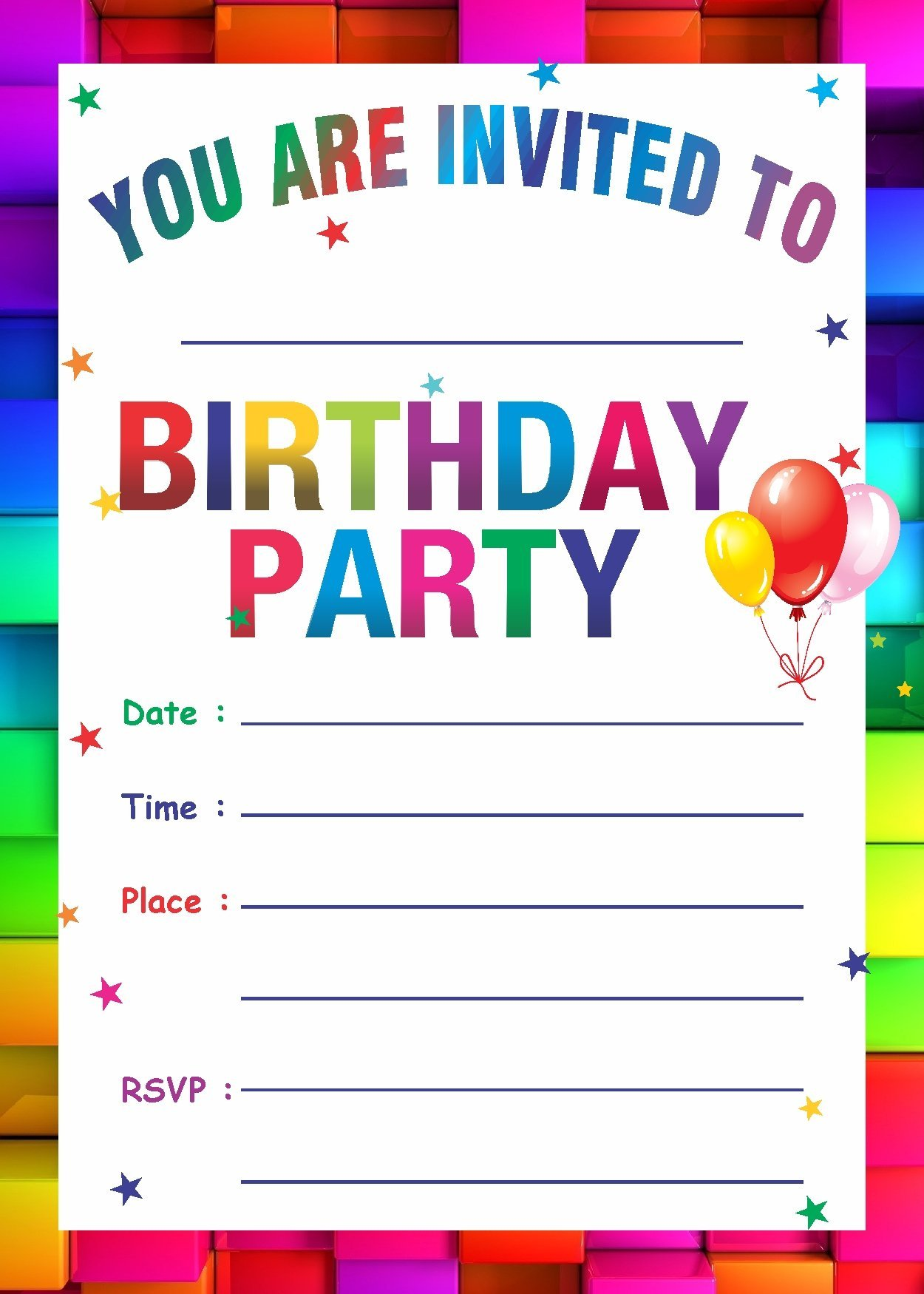 Birthday Invitation Card Buy Online At Rh Amazon In Dog Empty Template Taco Twosday Invitations