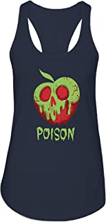 Disney Snow White Poison Apple Comfy Princess Disneyland World Tee Funny Graphic Womens Tank Top T-Shirt