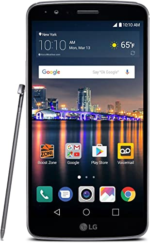 2021 LG outlet online sale outlet sale (LGLS777ABB) Stylo 3 - Prepaid - Carrier Locked - Boost Mobile sale