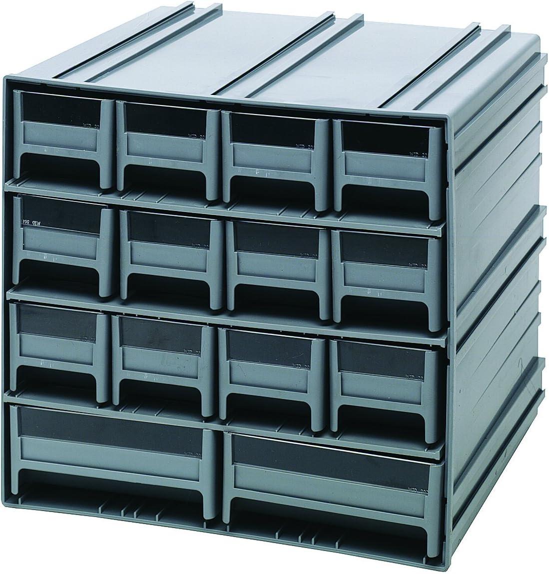 Quantum QIC-12123BL Interlocking Gray Storage Cabinet 2021 model 4 years warranty with 14 Bl