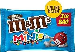 dark chocolate mini m&ms